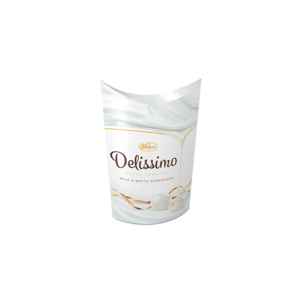 Delissimo Milk & White Chococlate 105g