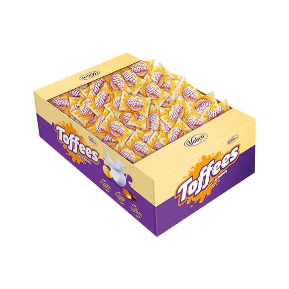 Toffees with milk cream 2,5kg