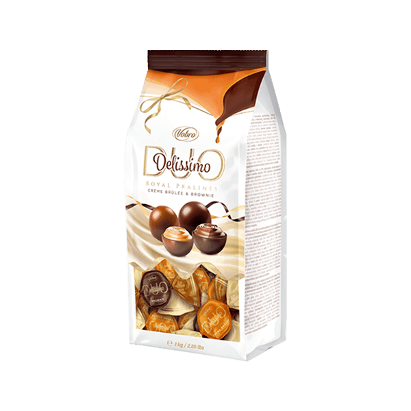 Delissimo Duo Brownie & Creme Brulee 1kg