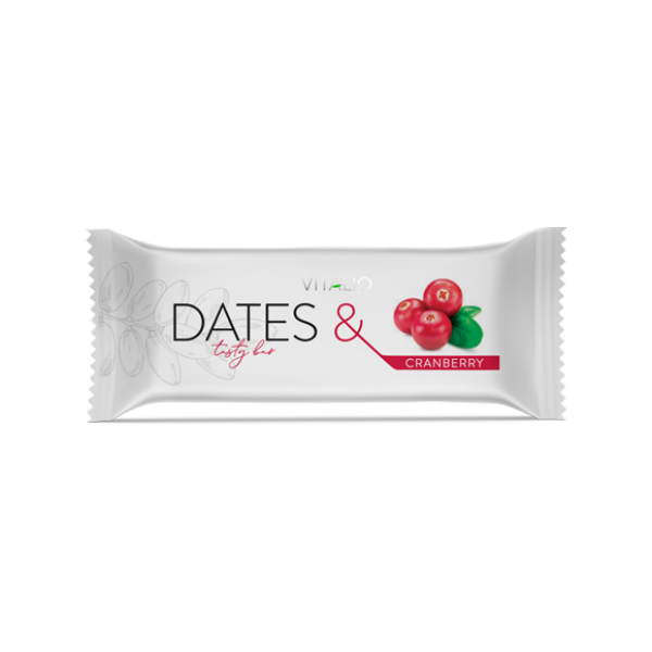 Vitalio Dates & Cranberry 28 g