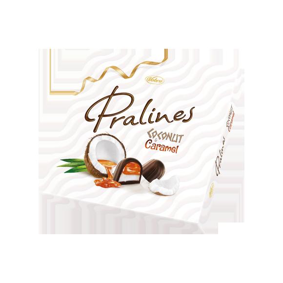 Pralines Coconut & Caramel 125 g