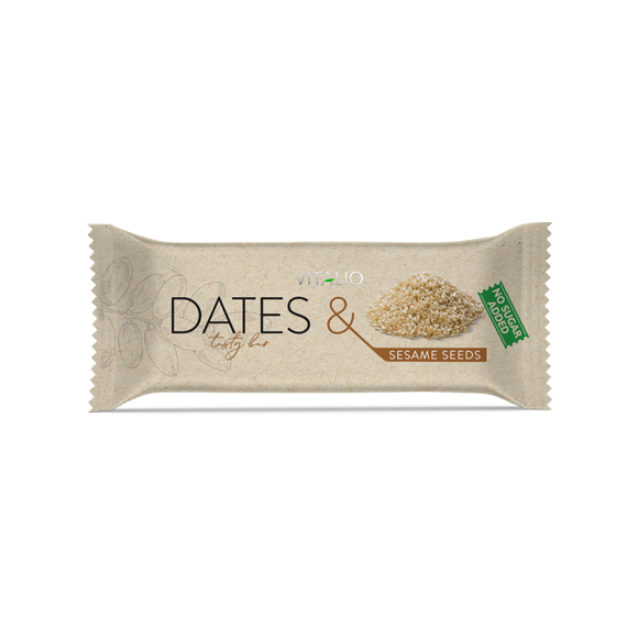Vitalio Dates & Sesame Seeds 28 g