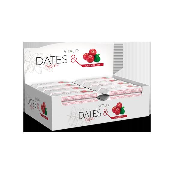 Vitalio Dates & Cranberry 28g