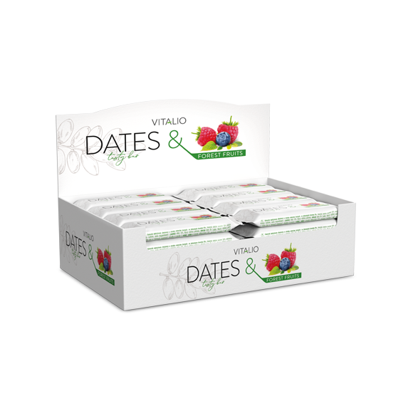 Vitalio Dates & Forest Fruits 28g