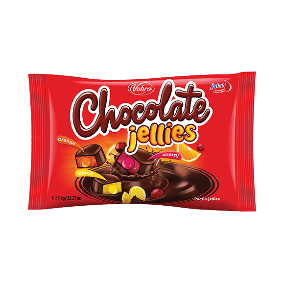 Chocolate Jellies 1 kg