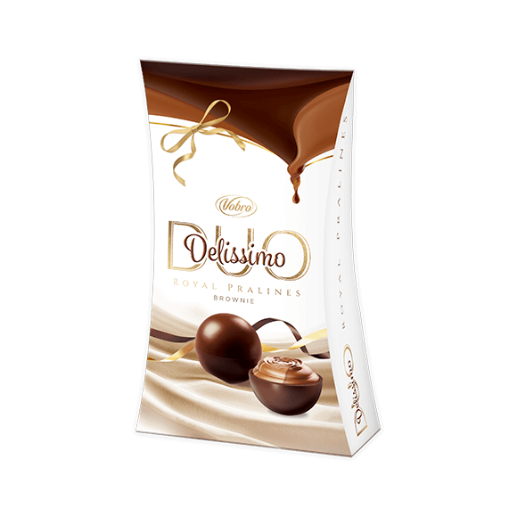 Delissimo Duo Brownie 105g