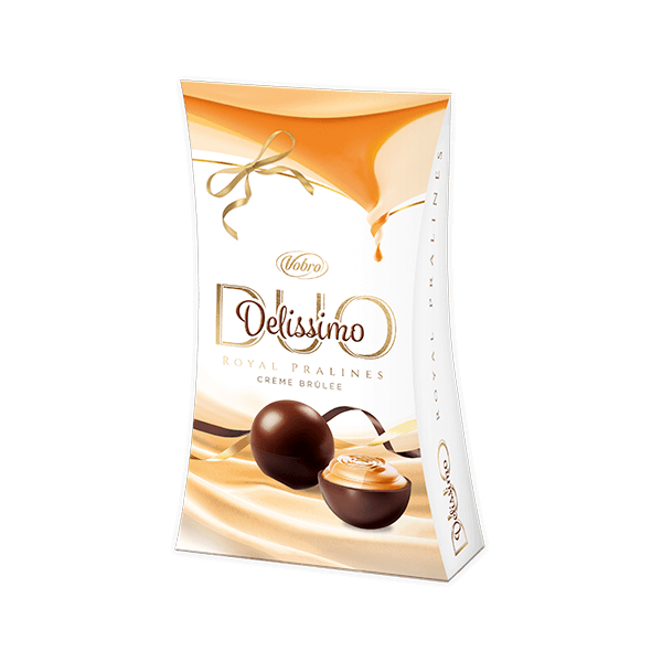 Delissimo Duo Creme Brulee 105g