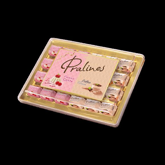 Pralines Panna Cotta, Coffee &Cream 290g (plastik)