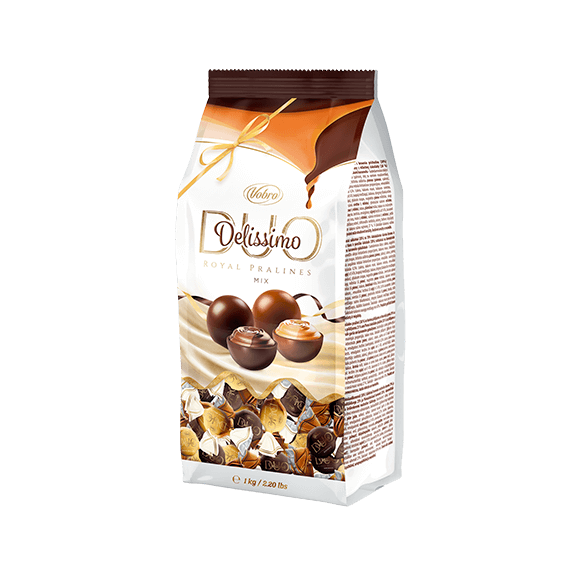 Delissimo Duo Brownie &Creme Brulee 1kg