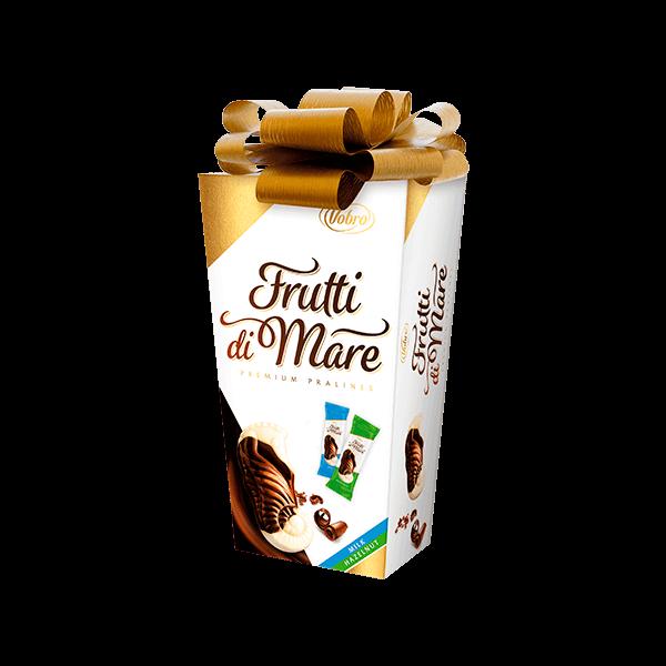 Frutti di Mare Hazelnut & Milk Prezent 190 g (zkokardą)