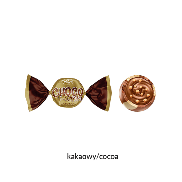 Choco Crispy Cocoa & Milk Prezent 180 g